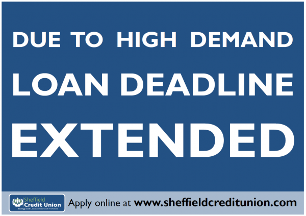 Christmas Loan Deadline Extended to 9th December