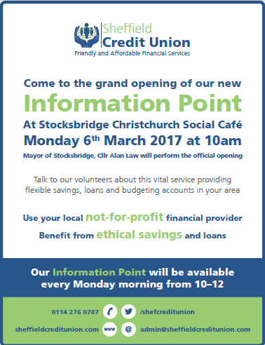 Launch of Stocksbridge Information Point