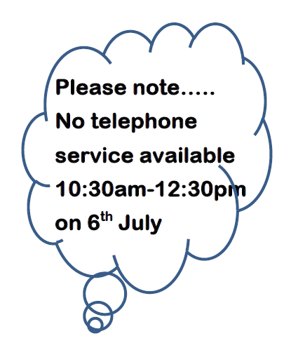 Phone Service Disruption on 6th July