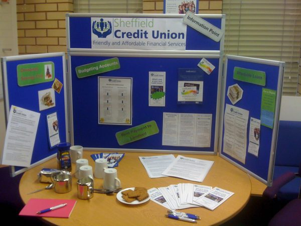 What are Sheffield Credit Union Information Points?